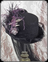 Victorian Inspired Ladies Riding Hats