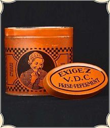 Antique snuff tin