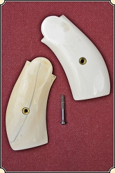 Vintage Ivory grips for S&W New Model No. 3 and all the reprodutions.