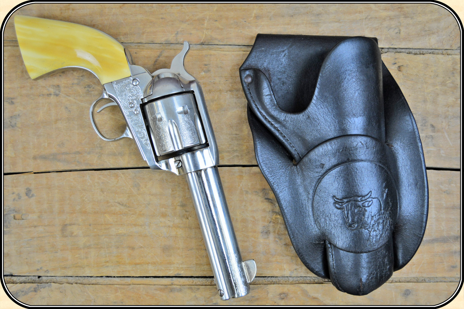 Authentic Old West Gun Holsters: Heiser Original Cowboy