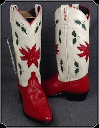 Special Acme Ladies Holiday Collector Boots