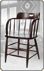 saloon supplies Caboose chair, To day we call them Saloon Chairs- SET of 2