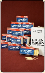 One Case of STRIKE ANYWHERE Kitchen matches. Perfect for your Vesta or MatchSafe