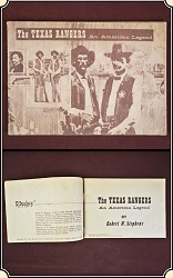 Daisy presents the story of the Texas Rangers: by Robert W Stephens (Author)