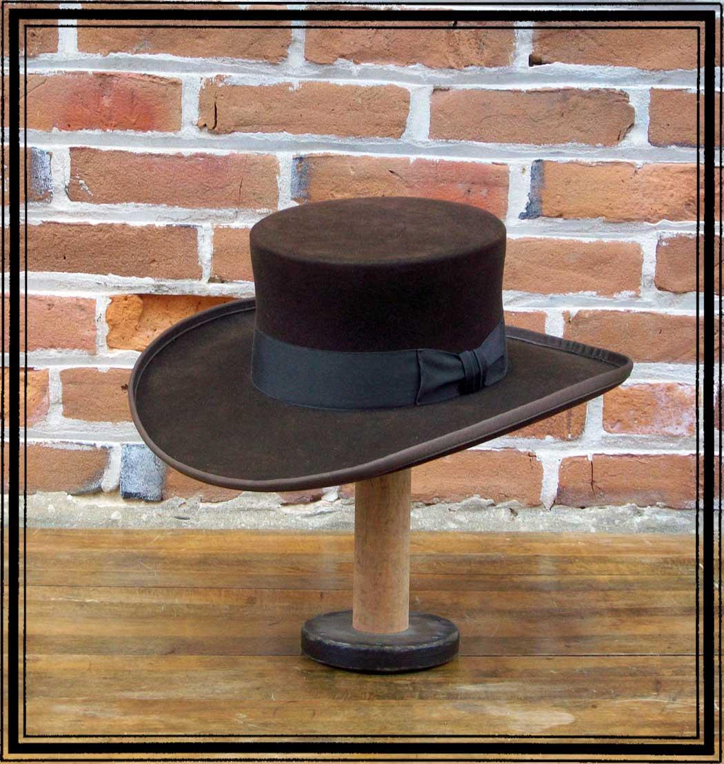Abolitionist 10x Fur Felt Hat