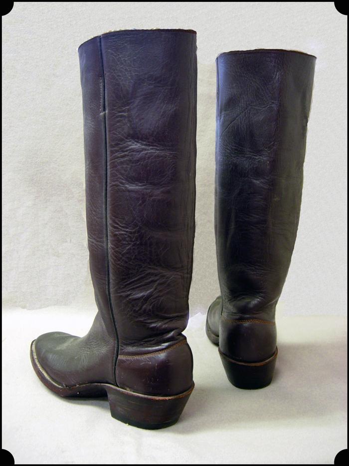 Cowboy Boots Lady Cowboy Wild West Performer
