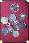 Buttons - Pewter buttons