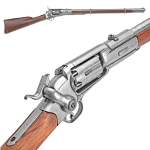 Non-firing Replica Rifle - US revolving Percussion Rifle