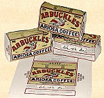 Coffee - Arbuckles' Coffee Sacks
