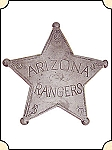 Badge - AZ Ranger - 5 pt. star