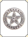 Badge - Texas Ranger A Co. - Circle star