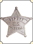 Badge - Dep. US Marshal - 5 pt. star