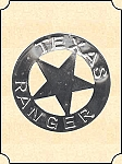 Badge - Tin Star - Texas Ranger