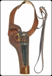 z-SOLD Old west  Shoulder Holster - Al Furstnow design Concealed Carry ,Colt - Rt Hand