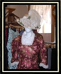 Ladies Hat - Cream Victorian