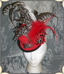 Red Petite Top Hat