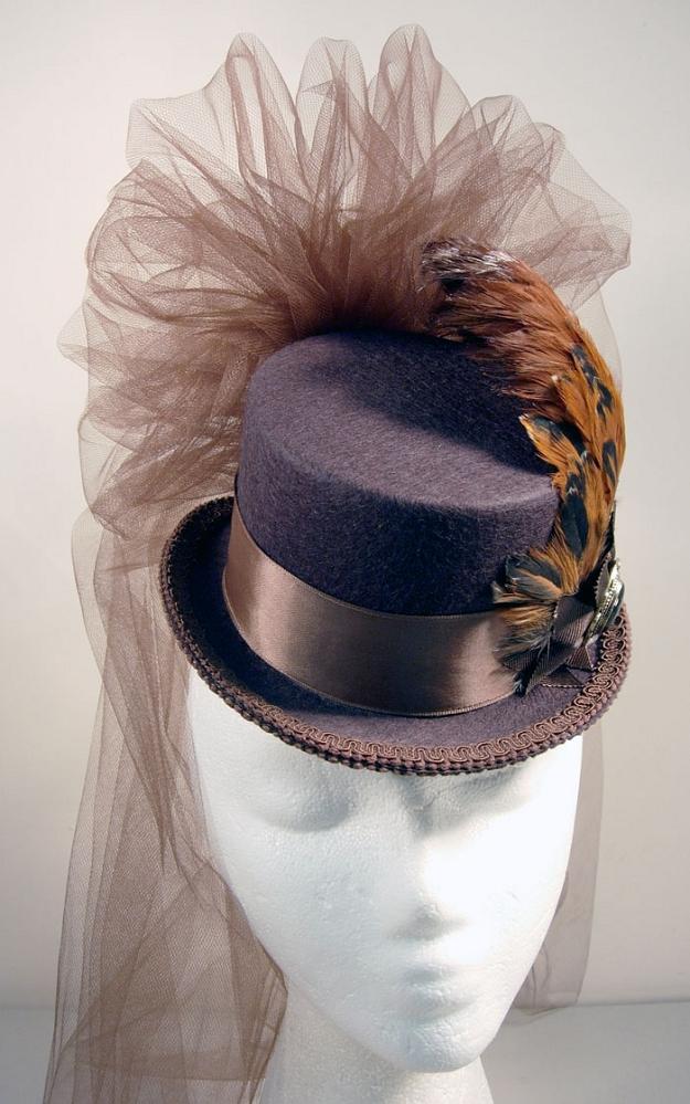 ladies victorian hats - photo #11