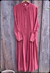 Muslin Day Dress - in Plum Sizes Med and Large