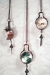 Jewelry - Closing Out ~ 19th Century Glass Globe Watch and Chain