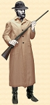 Duster -Outlaw Duster Coat - Canvas - Heritage Brand