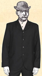 Coat - Old West Wah Maker Suit Coat