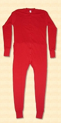 Men's Trap Door Long Underwear