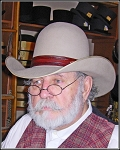 Men's Hat - Leather Hat Band Hand-crafted ~ Made Exclusively for RJT Co.