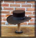 Men's Hat - Abolitionist Old West Hat - 10X Fur Felt