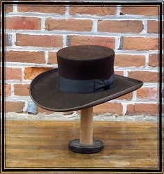 Men's Hat - Abolitionist Old West Hat - 10X Felt