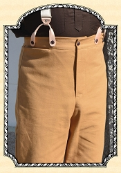 Trousers - Cotton Duck in Tan Heirloom Brand