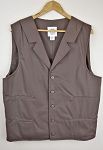 Colonel Carter  - Brown Cotton Working Vest