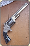Nickel Plated Antique Smith & Wesson #2 Army revolver