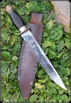 Knife Big Arkansan Toothpick Civil War era