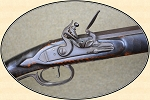 B. Fox Full Stock Flint Lock Long Rifle