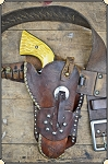 Vintage Antique Catalog Holster  and belt.