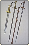 3 Original Civil War swords for a bargain price