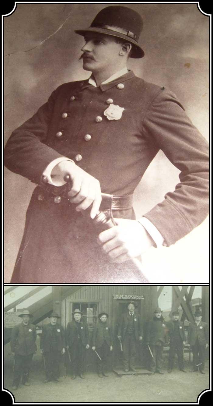 z Sold ~ 1890 era Policeman's Billy Club Nightstick.