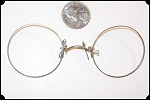 PINCH NOSE..... Pince Nez spectacles frames.