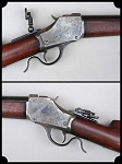 Winchesters M1885 High Wall Single Shot Rifle. Cal. 38-55