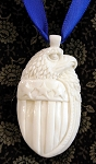 Jewelry - Hand-carved Bone ~ Federal Eagle Pendant or Watch Fob