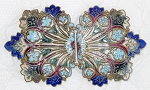$10 Off - Antique Victorian Art Nouveau  Belt or Sash Buckle