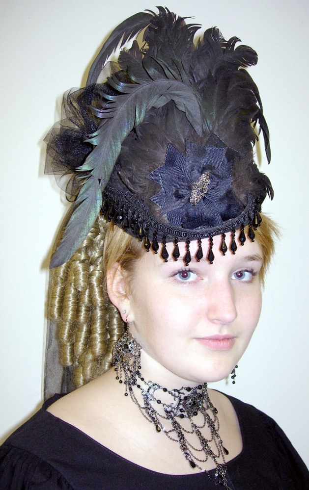 how to make victorian hats - photo #9