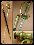 WWI Period German Postal Officer Dress Sword