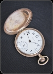 Waltham Full Hunter Gold Filled pocket watch