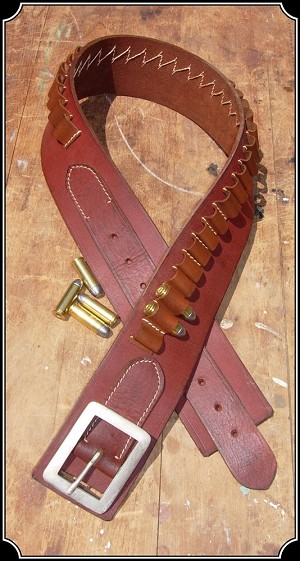 Belt - Marked Down $30 - Cartridge Belt - .45 Caliber