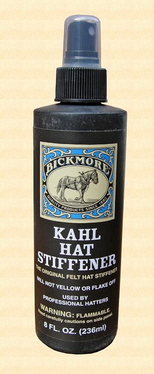 Men's Hat - Kahl Hat Stiffener - 8 oz