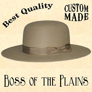 Men's Hat - Boss of the Plains - 10X Fur Felt