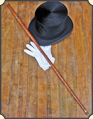 z Sold ~ Antique Flick Stick Cane Sword cane