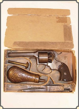z Sold ~ Revolver Remington-Rider pocket revolver, 31 cal, percussion, DA,