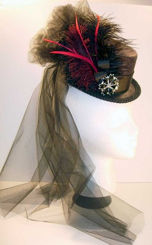 Sold 19th Century Top Hat Of The Old West Steampunk